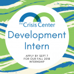 POSITION OPENING ANNOUNCEMENT – Summer Development Intern