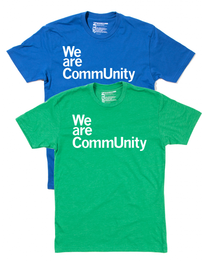 We Are CommUnity T-Shirts